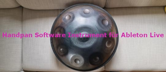 Handpan Software Instrument für Ableton Live